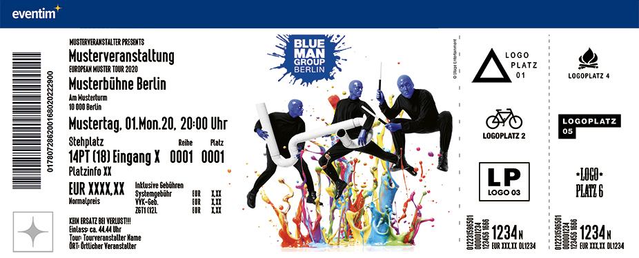 Blue Man Group Dauer