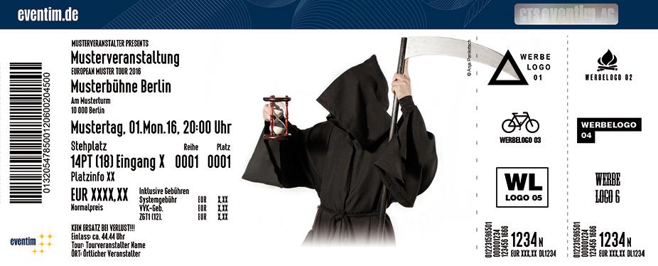 Der Tod Tickets: Alte Chemiefabrik Cottbus COTTBUS am 18.10.18 bei ...