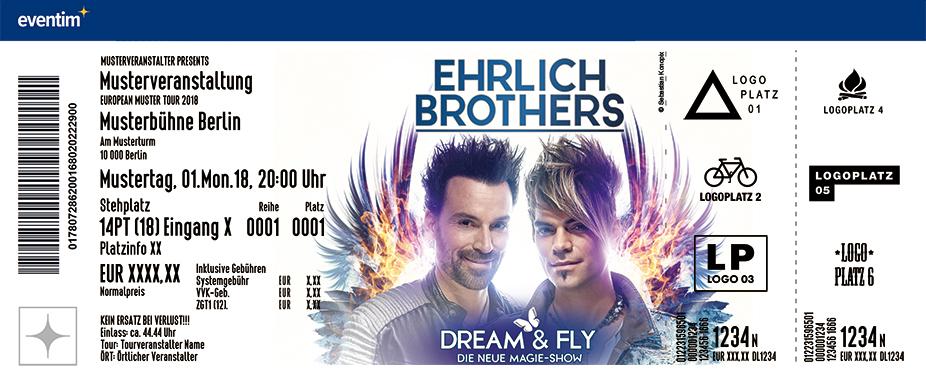 Ticket Ehrlich Brothers
