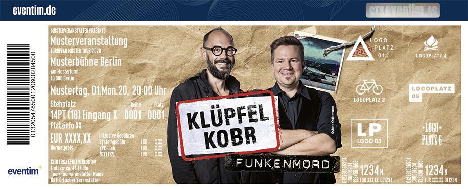 Klupfel Kobr Tickets Graf Zeppelin Haus Friedrichshafen Am 23 03 2022 20 00 Bei Ticketonline De