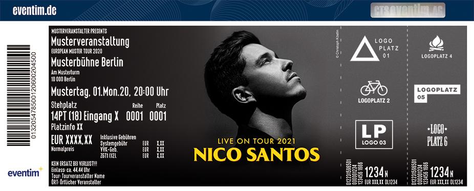 Nico Santos Eventim