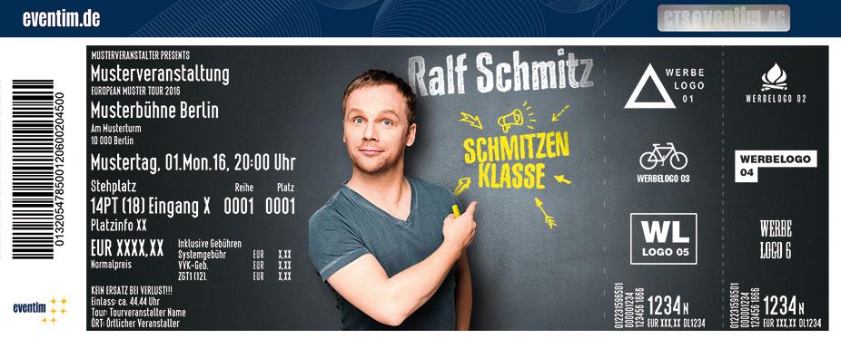 Ralf Schmitz Tickets Seidenweberhaus Krefeld Krefeld Am