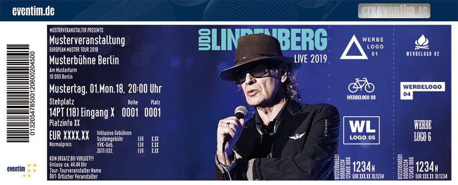 udo lindenberg tickets olympiahalle m nchen m nchen am 18. Black Bedroom Furniture Sets. Home Design Ideas