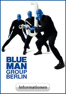 das show spektakel blue man group in berlin karten und. Black Bedroom Furniture Sets. Home Design Ideas